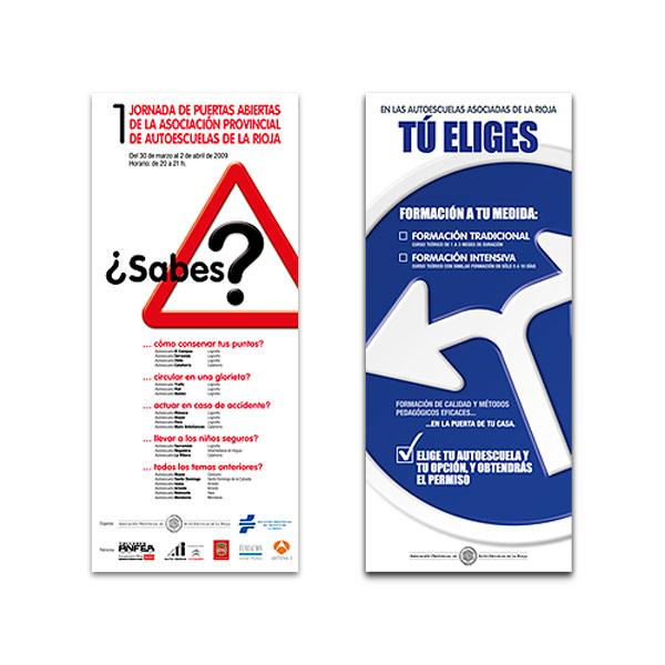 Carteles: Asociación Provincial de Autoescuelas de La Rioja