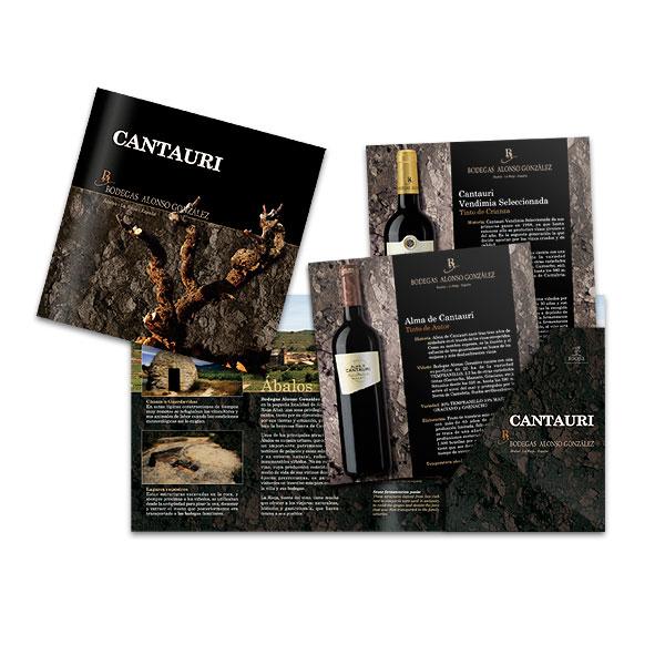 Catálogos: Bodegas Alonso González