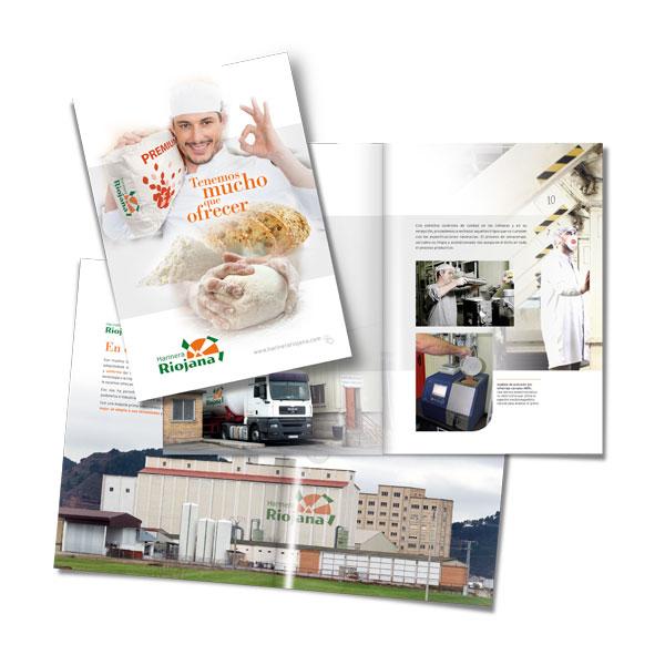 Catálogos: Harinera Riojana