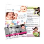 Impresos publicitarios: Ikastola Erentzun, folletos matriculación