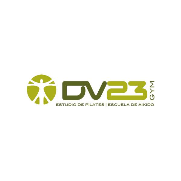Logosímbolo de DV23 Gym