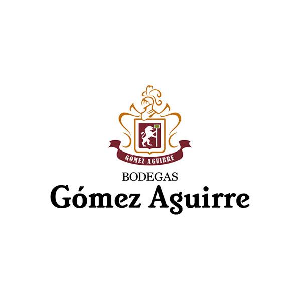 Logosímbolo de Bodegas Gómez Aguirre