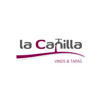 Logosímbolo de La Canilla, vinos y tapas