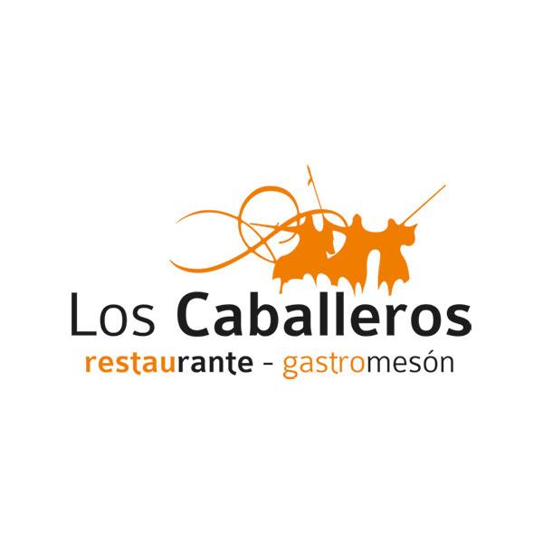 Logosímbolo de restaurante Los Caballeros
