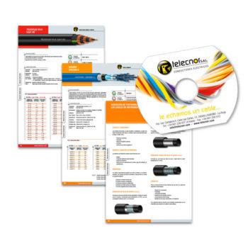 Multimedia: CD-Card Telecnor, conductores eléctricos