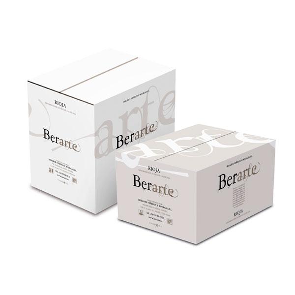 Packaging: Bodegas Berate, cajas