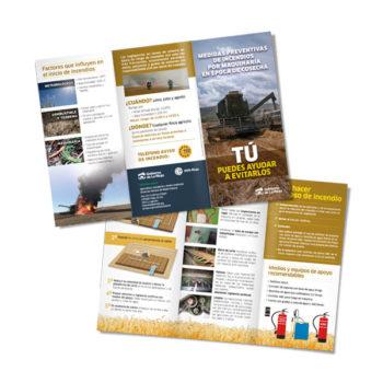 Publicaciones: Medio Ambiente, folleto informativo