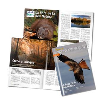 Publicaciones: Medio Ambiente, revista Páginas de Información Ambiental