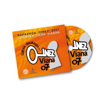 Multimedia: CD Nafarroa Oinez 2007