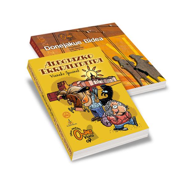 """Publicaciones: Libro de cuentos y libro Camino de Santiago """"Oinez'07″"""