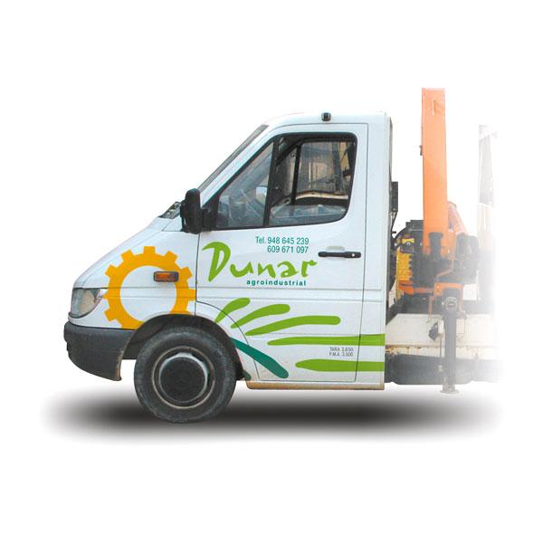 Rotulación: Vehículo Agroindustrial Dunar