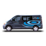 Rotulación: Vehículo Urbión, cocina y baño