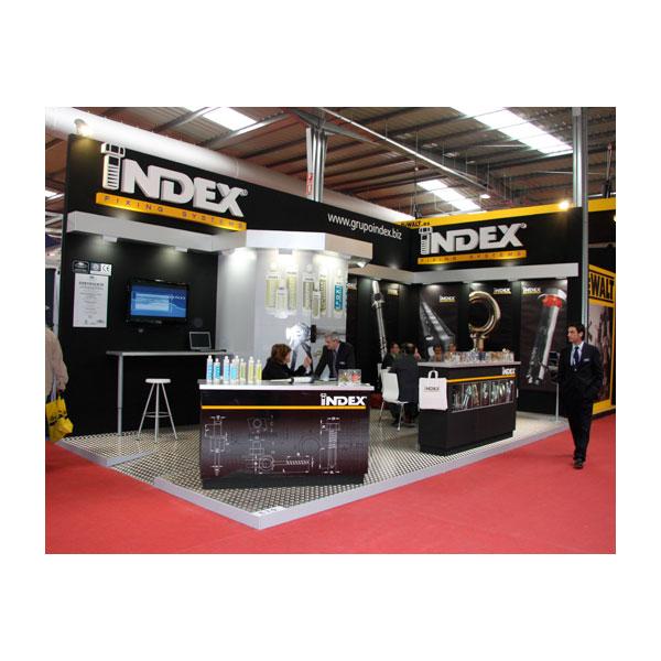 Stand: Index, feria SMOPYC de Zaragoza