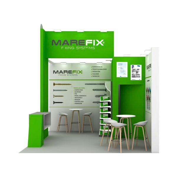 Stand: Marefix, feria Ferroforma 2017 de Bilbao