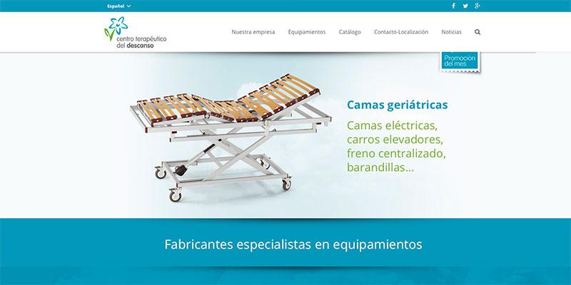 Sitio web: Centro Terapéutico del Descanso