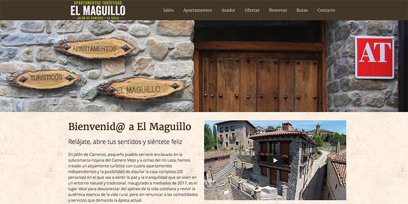 Sitio web: El Maguillo, apartamentos turísticos