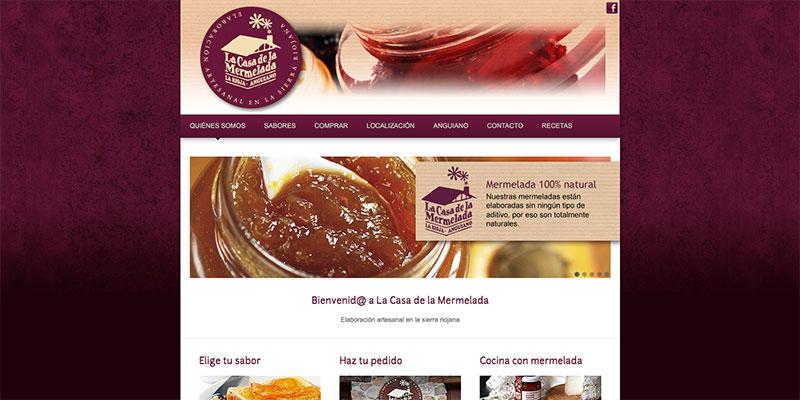 Sitio web: La Casa de la Mermelada
