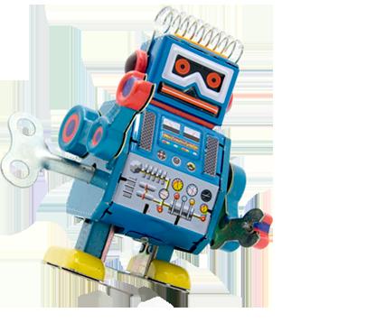 Robot de cuerda